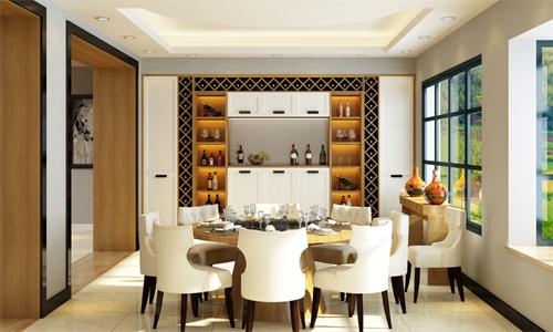 现代风尚系列餐边柜