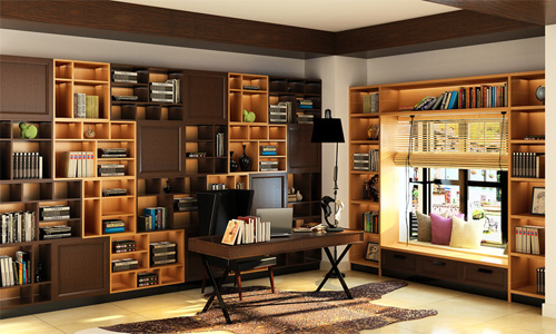 现代风尚系列书柜