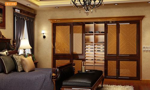 世纪新贵系-衣柜衣帽间橱柜衣橱整体衣柜整体橱柜-列推拉门衣柜DM-E-01