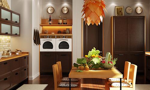 现代柜类系列整体厨柜XGM-08