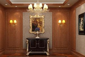 护墙板,实木贴皮木饰面板-QB-C-01/QB-C-02