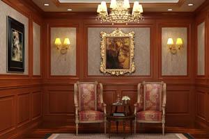 成品木饰面,护墙板,实木贴皮木饰面板定制-QB-G-01/QB-G-02