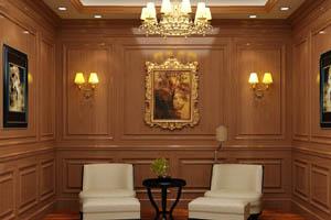 简欧护墙板,墙裙,成品木饰面厂家直销工厂定制-QB-H-01=QB-H-02