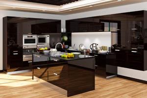 固装家具-现代风尚-整体厨柜-整体橱柜