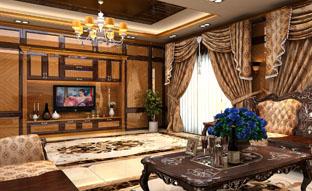 广东AG贵宾会定制家具-简欧风格-客厅组合柜、客厅柜、电视柜